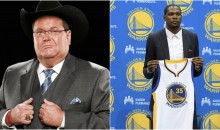 Jim Ross on Durant Leaving OKC: 'I Hope We Beat Their Ass Every Time We Play'