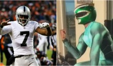 Raiders Punter Marquette King Spent his Bye Week as Green Power Ranger (Video)