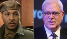 "Carmelo Didn't Like Phil Jackson's ""Posse"" Comments; Wonders Why He's Even Talking About LeBron (Video)"