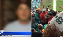 Guy Who Filmed Brawl Says Dolphins Fans Told 49ers Fans to Move to Another Country With Their 'Muslim QB' (Video)