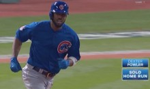 What a Start! Dexter Fowler Leads Off Game 7 With a Homer (Video)