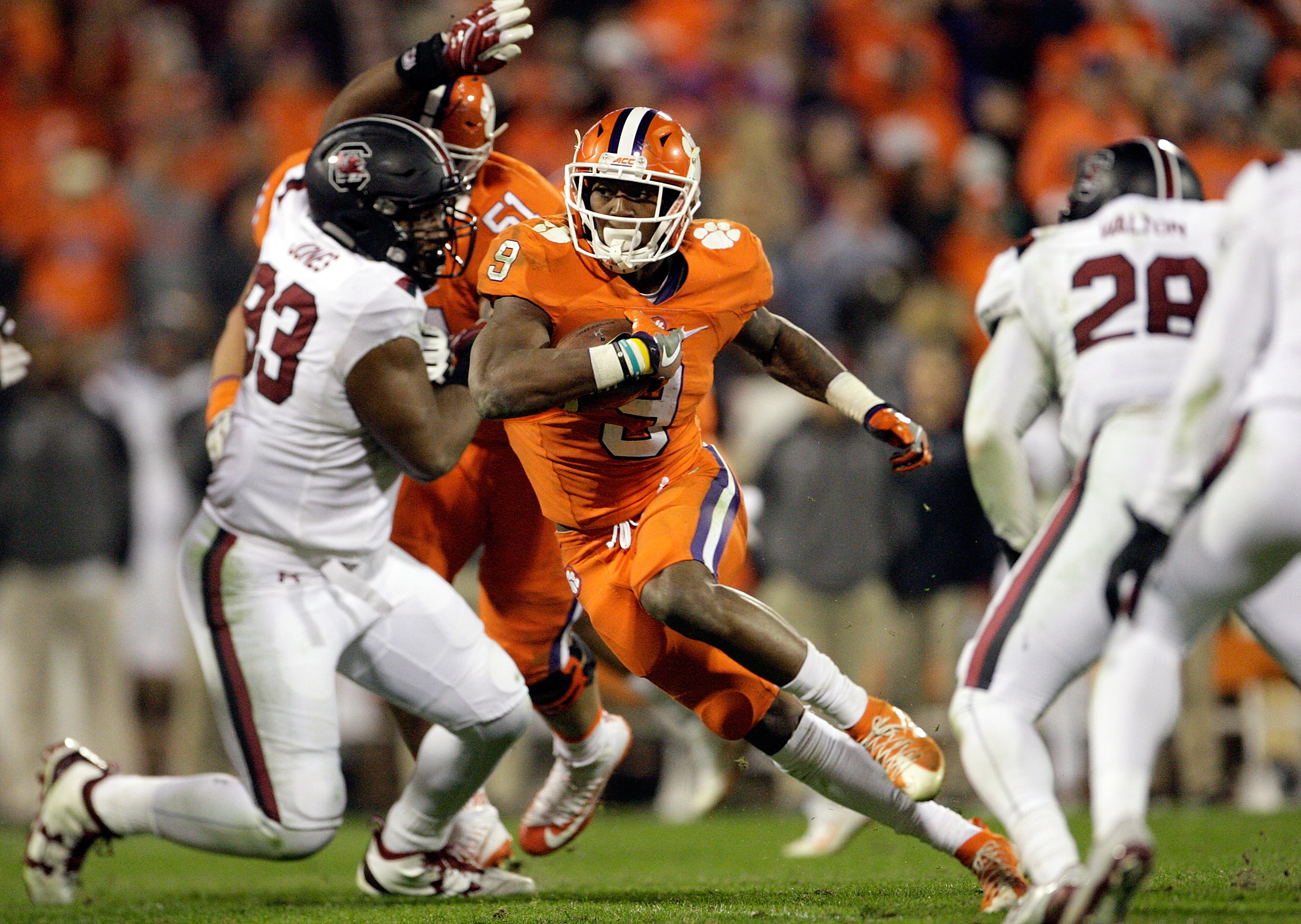 South Carolina Players Accuse Clemson Players of Calling ...