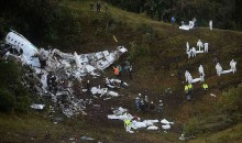 Plane Carrying Brazilian Soccer Team Chapecoense Crashes in Colombia, Killing 75 of 81 Passengers