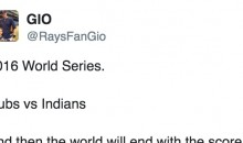 Someone Predicted Cubs-Indians World Series Game 7 Would Go to Extra Innings Back in 2014