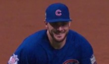 Check Out Kris Bryant's Big Smile As He Records Final Out of World Series (Video + Pic)