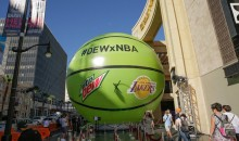 Mtn Dew Teams Up with the NBA to Bring Some Big Balls to 3 Cities