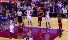 Even LeBron James Airballs Free Throws (Video)