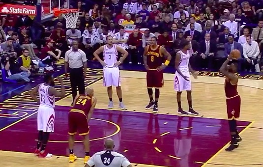 Even Lebron James Airballs Free Throws Video Total Pro
