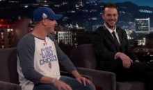 Crying Cubs Fan Met Kris Bryant on 'Jimmy Kimmel Live' Last Night (Video)