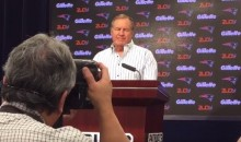 Bill Belichick Confirmed that Letter Trump Read Was His, Then Offered the Same Answer to Every Follow-Up (Video)