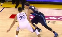 Seth Curry Really Hung His Brother, Steph, Up with This Crossover (Video)