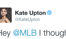 Kate Upton Tells MLB to Stop F*cking Her Fiancé Verlander, Because That's Her Job (PICS)