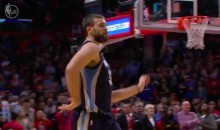 Marc Gasol Busts out the 'McGregor Walk' After Sinking a 3 (Video)