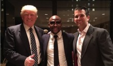 Donald Trump and Floyd Mayweather Pose in Image of America's Favorite People (Tweet)