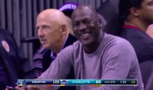 Even Michael Jordan Is Laughing at Charlotte's Defense (Video)