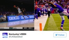 Kentucky's Malik Monk Channels Inner Odell Beckham…During a Basketball Game! (Video)