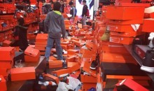 These Black Friday Shoppers Hit a Nike Store Like a Wrecking Ball, Trashing the Place (Video)