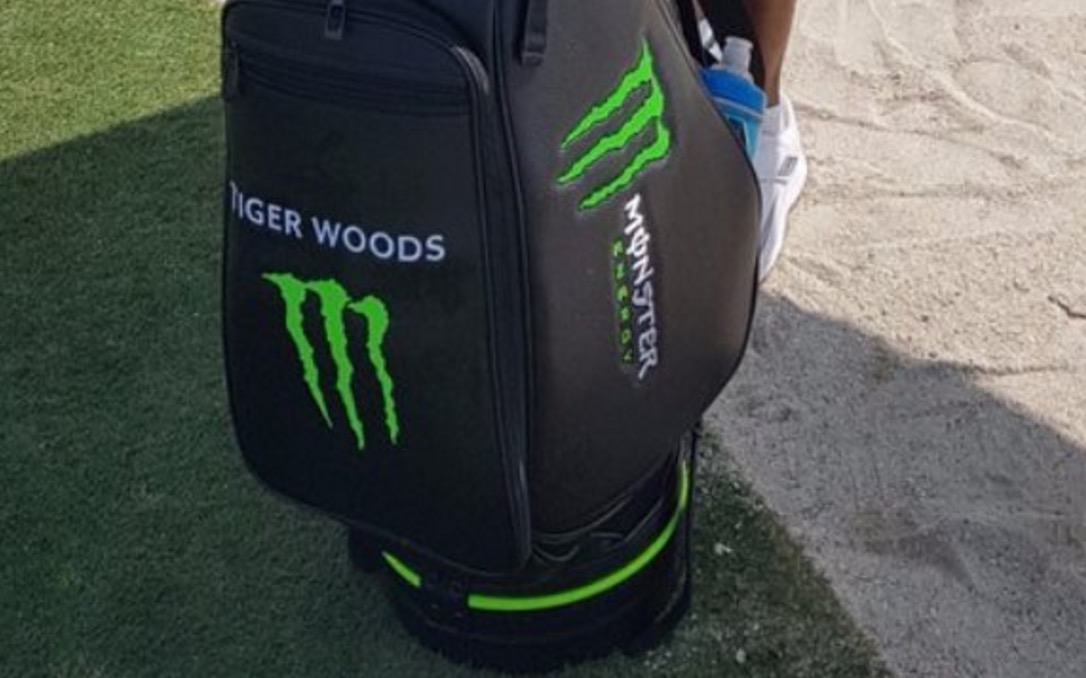 Internet Reacts To Tiger Woods U0026 39  New Monster Energy Golf