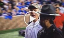 "Tommy Tuberville Tells Fan To ""Go To Hell"" And ""Get A Job"" (Video)"