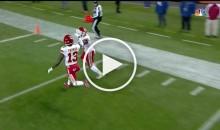 Chiefs KR Tyreek Hill Hi-Fives Teammate Before Scoring 86-Yard TD (Video)