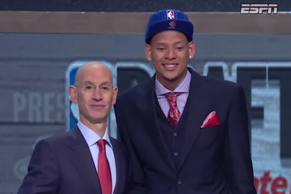 adam-silver-and-isaiah-austin-nba-draft-job
