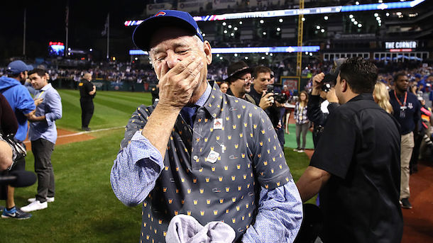 Bill Murray Cubs World Series
