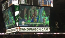 Bucks Troll Warriors Fans with 'Bandwagon Cam' & Blowing 3-1 Series Lead (PICS)