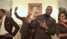 Cleveland Cavaliers and Michelle Obama Do Mannequin Challenge at White House