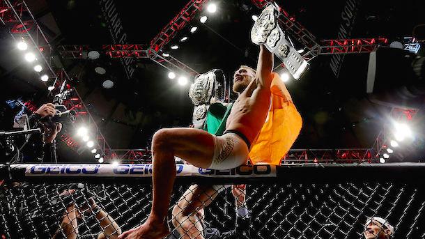 Conor McGegor UFC Ownership Stake UFC 205