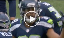 Baldwin Says He Flipped off Seahawks OC Before TD Pass: 'You Want Me To Throw in The F*cking Red Zone'