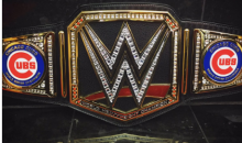 WWE's Triple H Congratulates The Cubs With a Custom Championship Belt