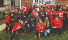 OSU Fan's Sign Takes Shot at Michigan Women & Flint Water Crisis (PIC)
