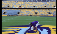 Alabama Fans Break into Tiger Stadium & Disrespect Midfield Logo (PIC)