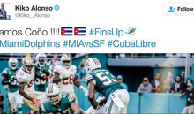 Cuban LB Kiko Alonso Tweets Image Of Him Crushing Colin Kaepernick For Supporting Fidel Castro