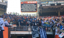 Home Game in Cleveland Has More Cowboys Fans Than Browns Fans (Video)