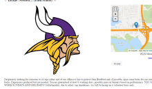 Vikings Fan Posts Craigslist Ad Looking For Offensive Line Help
