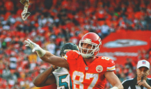 Travis Kelce Upset Refs Can Throw Flags All Day & He Can't Throw One Back