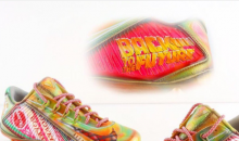"Giants WR Odell Beckham Wearing Custom ""Back To The Future"" Cleats (PICS)"