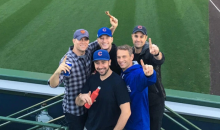 After Cubs World Series Victory, Theo Epstein Ate a Goat In The Left Field Bleachers At Wrigley
