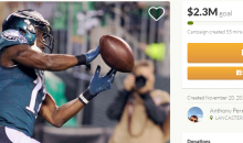 Philadelphia Eagles Fan Starts GoFundMe To Help Eagles Cut WR Nelson Agholor