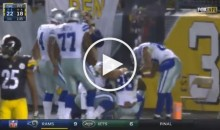 Dez Bryant Gets Emotional After 50 Yard TD Catch, Playing Day After Dad Died (Video)