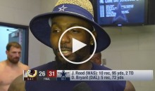Dez Bryant on Josh Norman: 'I Was Wearing His Ass Out All Night' (Video)