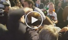 Fight Breaks Out Between Fans While Conor McGregor Was Headed to Octagon (Video)