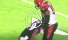 Steve Smith Headbutts Vontaze Burfict, Who Proceeds To Flop Right After (Video)