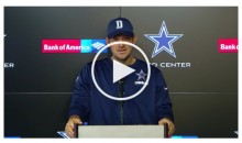Tony Romo Embraces Being Back-up QB: 'Dak Has Earned The Right to be Our QB' (Video)