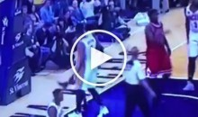 Paul George Ejected For Kicking Ball Into Stands & Hitting Fan in Face (Video)