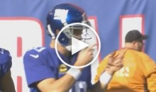 Did Eli Manning Call a 'Brown Penis' Audible (Video)