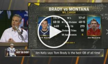 Jim Kelly & Colin Cowherd: 'Tom Brady is The Greatest QB EVER' (Video)