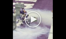 Cameraman Gets Blown Up During Minnesota Vikings Introduction (Video)