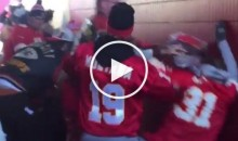 Kansas City Chiefs Fans Fight With Each Other at The Game (Video)